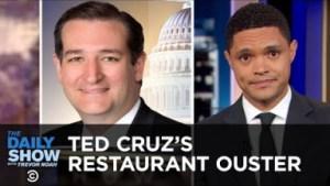 Video: Ted Cruz's Restaurant Ouster & Nelson Mandela's U.N. Statue - Trevor Noah Daily Comedy Show
